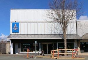 Courtenay Masonic Temple, 361 5th Street, Courtenay, B.C. (photo: Manoah Lodge No. 141 Webmaster)