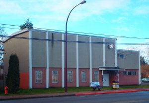 Goldstream Masonic Hall, 679 Goldstream Avenue, Langford, B.C. (photo: Manoah Lodge No. 141 Webmaster)