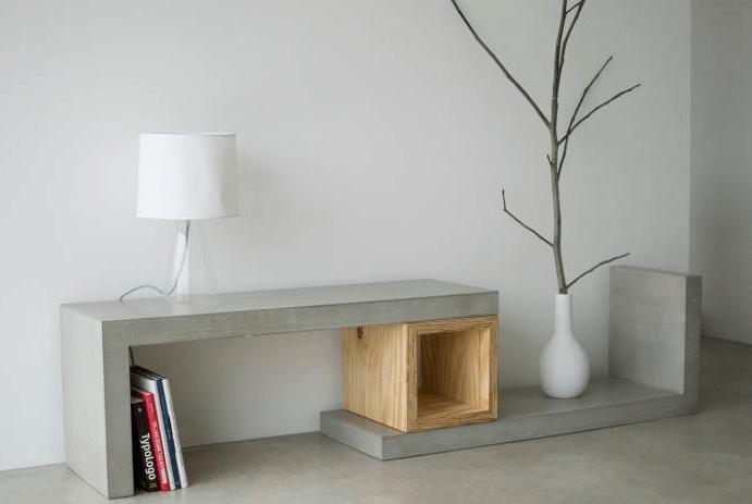 14 Increbles ideas para hacer muebles de concreto t