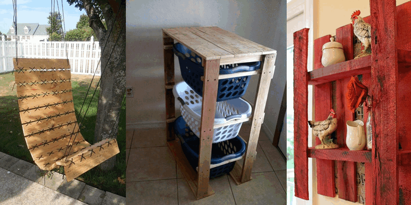 22 SORPRENDENTES IDEAS para construir muebles con pallets de madera igual a los de tendencia