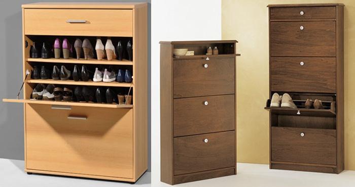 Construye tu propia zapatera minimalista a medida