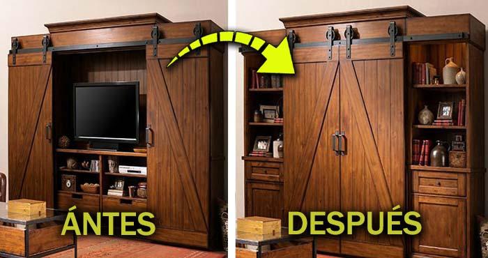 Los 16 muebles construidos precisamente para ocultar tu