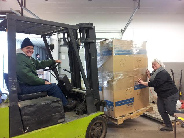 Shipping 2 Containers for our Bolivia Programs