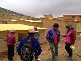 Community greenhouses built through the CEA in Jironkota, Bolivia.