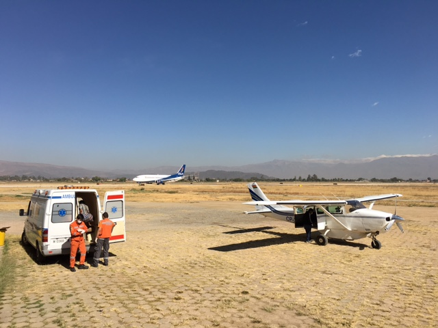 Transporting 2 People from Beni – Recent Emergency Flight
