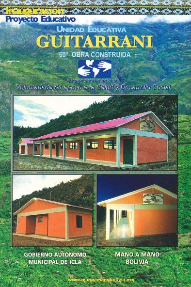 New Schools and Clinics in Bolivia – 2017