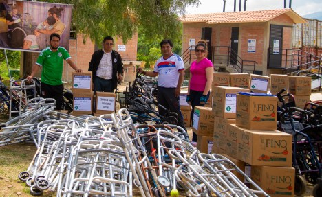 28 organizations picked up donated medical supplies and equipment at Mano a Mano's warehouse on March 14th, 2020.