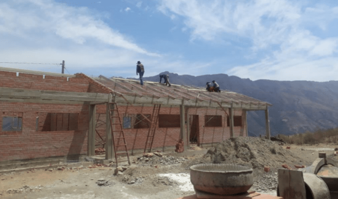 Restarting Construction on School & Clinic Projects in Bolivia