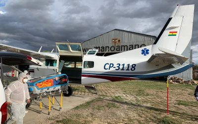 Flying in Bolivia During COVID: Mano a Mano's Aviation Program in 2020