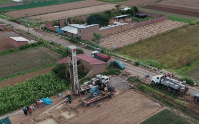 Drilling Water Wells in Partnership with Rural Bolivian Communities