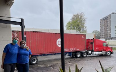 Containers Leaving Our Minnesota Warehouse & Containers Arriving at Our Bolivia Warehouse