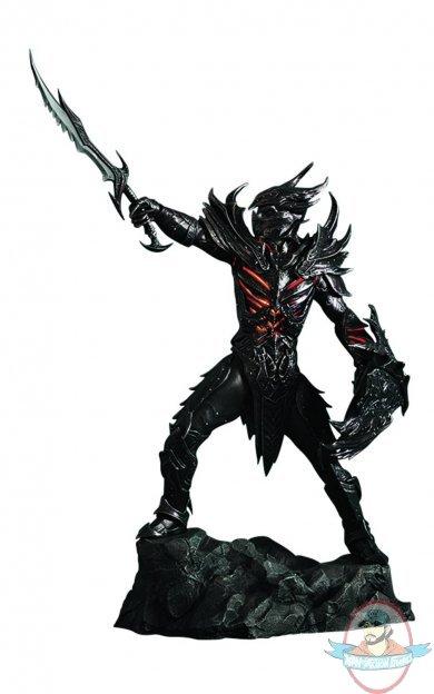 Red And Black Diamond Wallpaper 1 6 Scale Gaming Heads The Elder Scrolls V Daedric Armor