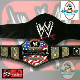 WWE Deluxe United States Champ Adult Size Replica Belt