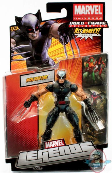 Marvel Legends 2013 Wave 1 Wolverine X Force Action Figure