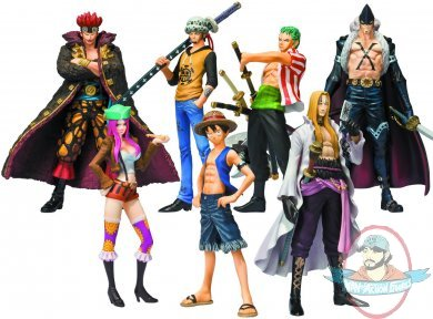 One Piece Rookies Chozokei Tamashii Case Of 8 By Bandai