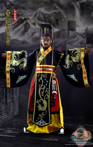 16 Scale Three Kingdoms Series Qin Shi Huangdi First
