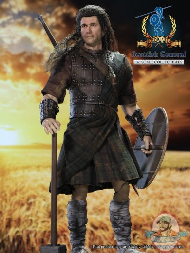16 Scale Pangaea 12 Inch Action Figure Scottish General Man Of Action Figures