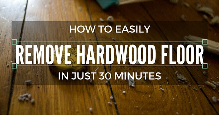 how to remove hardwood floor