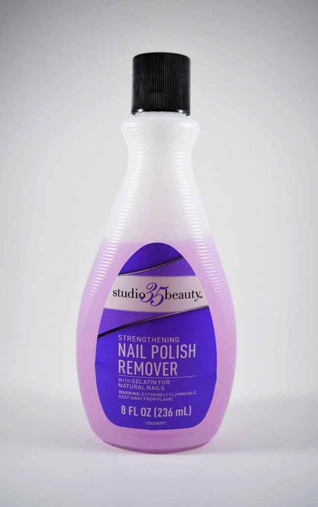 how to remove spray paint from plastic with nail polish remover