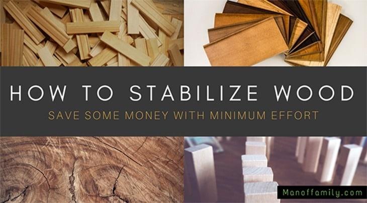 Vacuum Stabilizing Wood