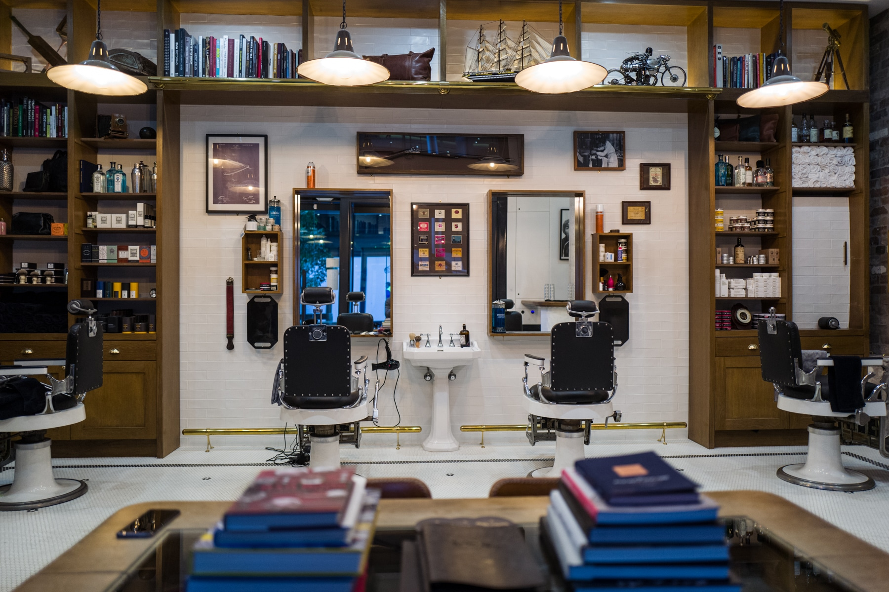 best barber chairs dining chair covers gray haircuts & whisky - barangaroo shop | man of many
