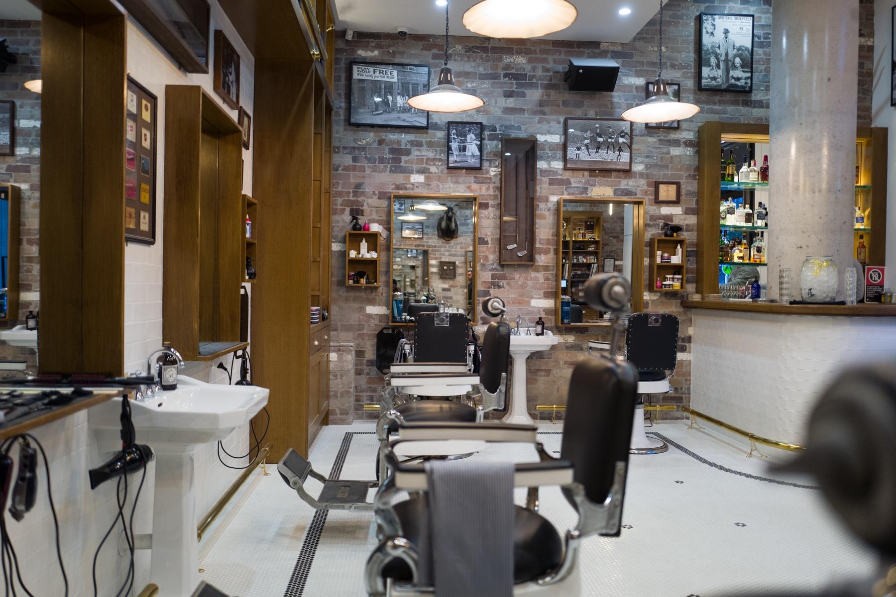 Haircuts  Whisky  Barangaroo Barber Shop  Man of Many