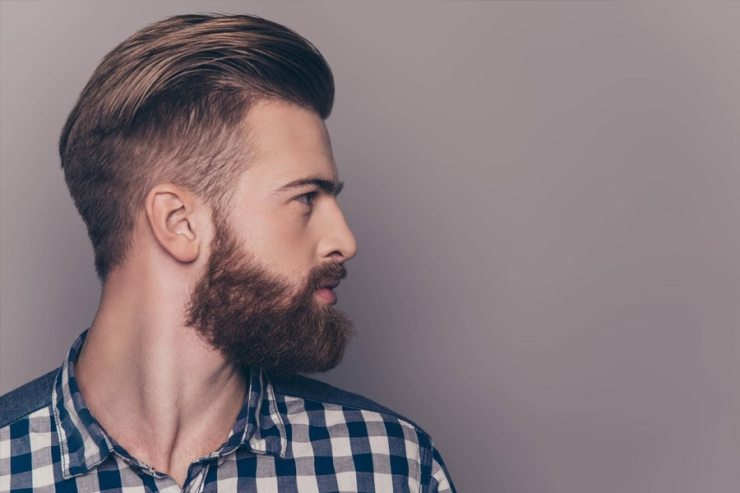 Short hairstyle haircut for men
