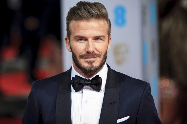 Beckham'da Pompadour