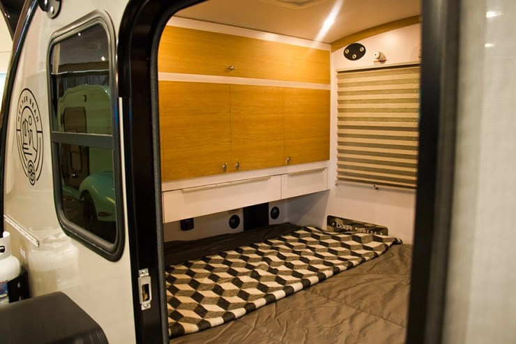 Mean Bean bedroom Trailer