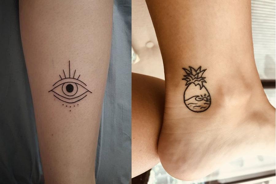 50 minimalist tattoo ideas