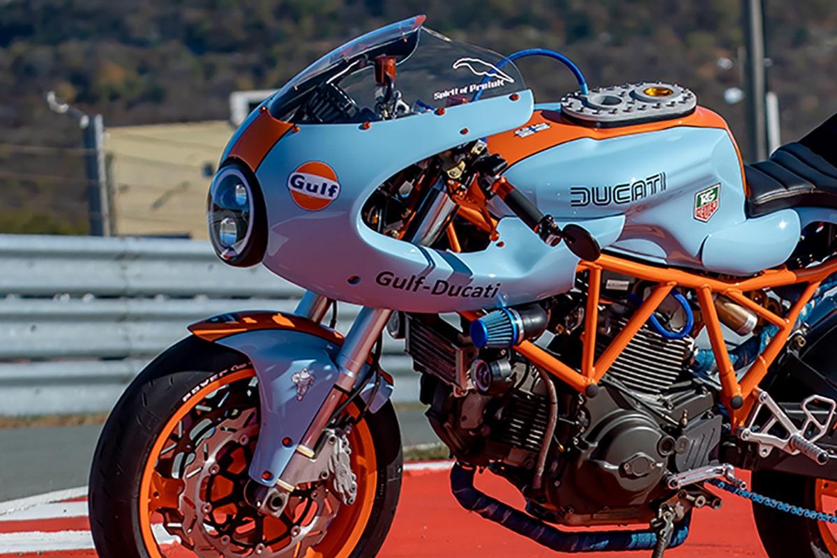 Hcaf ducati 750ss cafe racer moto 1