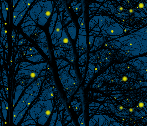 Fireflies tree