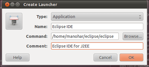 Remove question mark and add your own icon to the ubuntu 11.04 natty narwhal unity launcher (2/4)