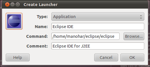 Remove question mark and add your own icon to the ubuntu 11.04 natty narwhal unity launcher (3/4)