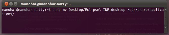 Remove question mark and add your own icon to the ubuntu 11.04 natty narwhal unity launcher (4/4)