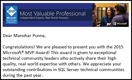 A Year of Winter End with a Bang - Microsoft MVP - Yay!!!