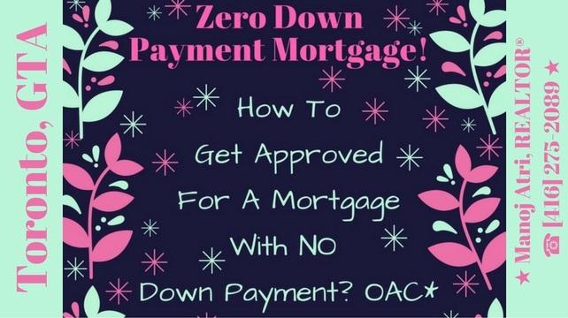 Zero down mortgage