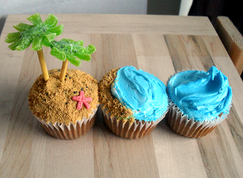 Vacation Cupcakes