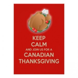Happy Canadian Thanksgiving eh
