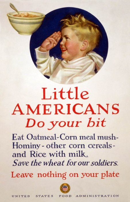 Little Americans, do your bit: no matter how noxious it may be