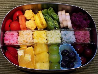 Rainbow sushi