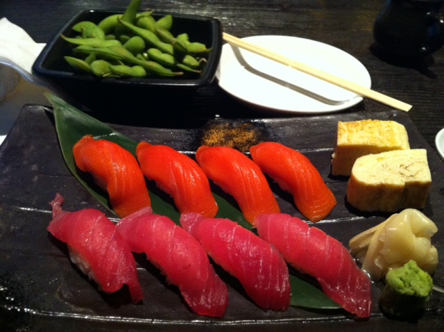 Seeing red. Red sushi from Hapa Izakaya