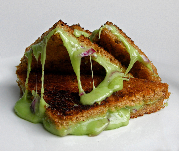 Wasabi Grilled Cheese Sandwich