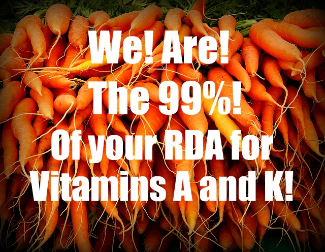 carrots are the 99 %