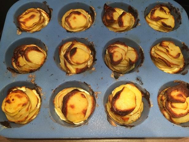 Manoncooks - gâteau - chèvre - pommes - de - terre