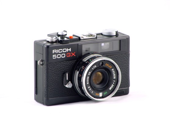 Ricoh 500GX – Front view