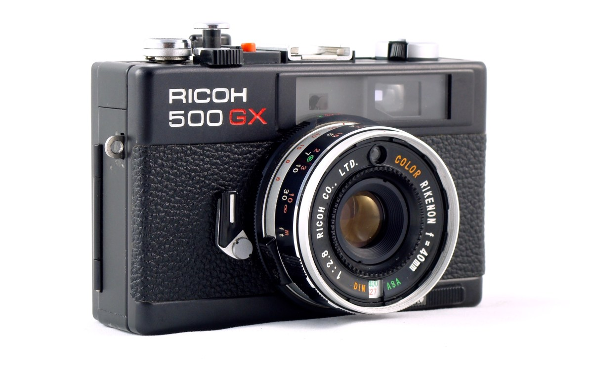 A Camera – The Ricoh 500GX