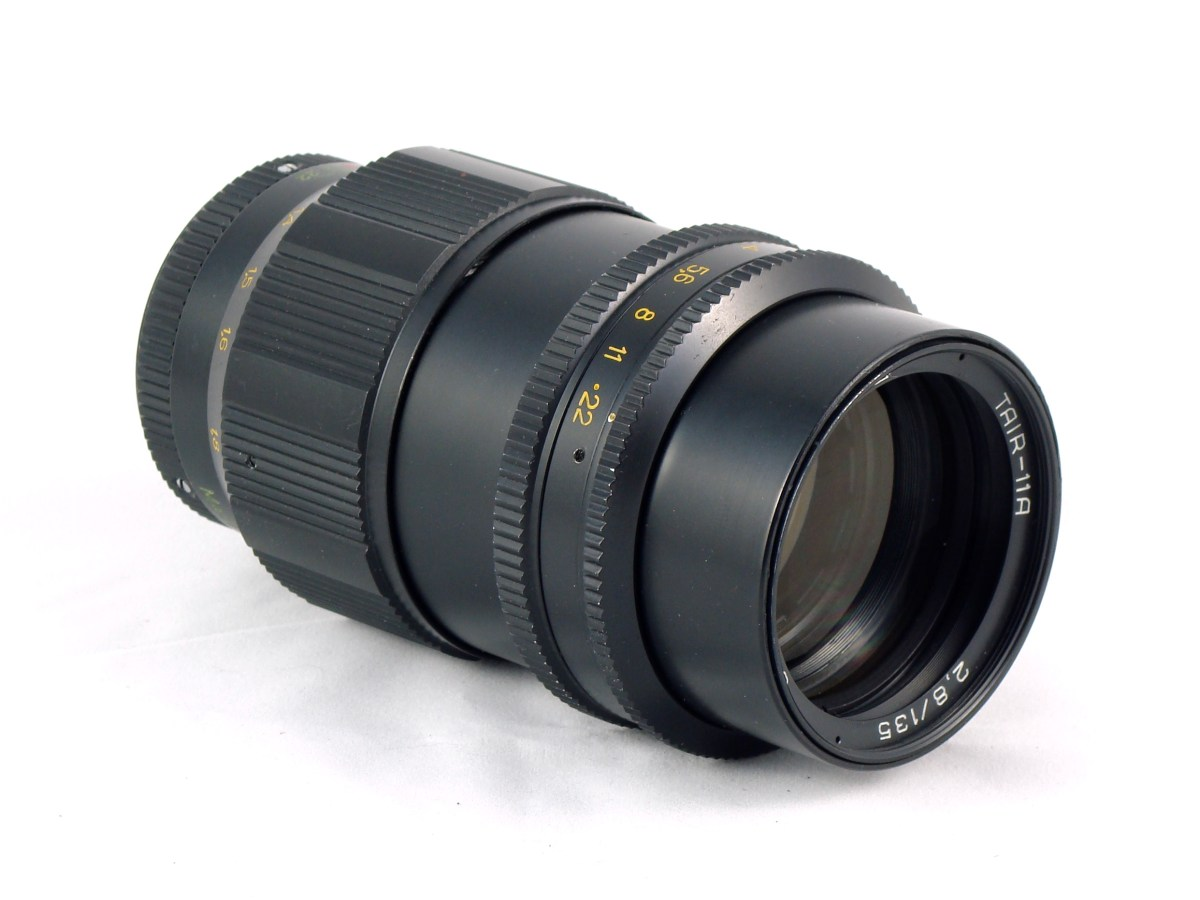 A lens – the KMZ Tair-11A 135mm f/2.8