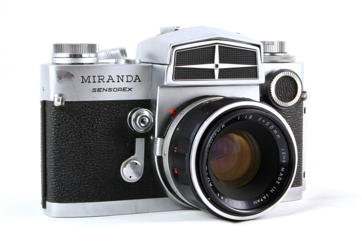 A camera – the Miranda Sensorex