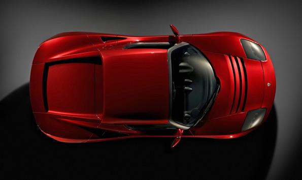 Tesla Roadster   Man On Fire Design